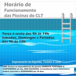piscina clt com Departamento de Esportes, Turismo e Lazer (1)