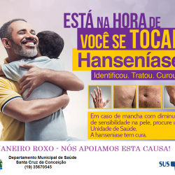 Janeiro Roxo - Hanseniase