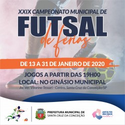 XXIX Futsal de férias