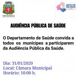 audiencia publica saúde 31-01-2020