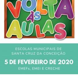 comunicado aulas 2020