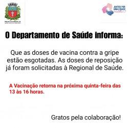 saúde informa vacina
